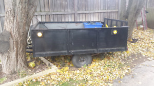 Utility trailer  700 obo  or try your trade