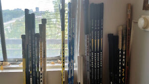 W0W-HOCKEY STICKS GRAPHITE AND COMPOSITE FROM $15 UP