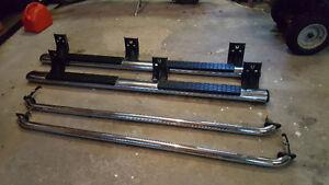 Side steps + Back rails