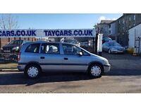 TAYCARS DUNDEE GENUINE SALE!! 2005 VAUXHALL ZAFIRA 7 SEATERS NOW £1495