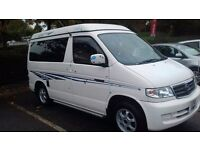Mazda Bongo Friendee Camper Van, 5 seater, fitted side kitchen - GOOD CONDITION