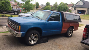 1988 Chevy s10 v6 5 speed