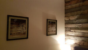Rustic Photo Frame w/ Picture