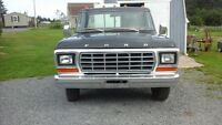 1978 Ford F 250 Camper Special pickup truck