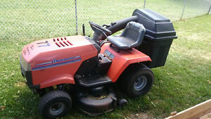 Dirt Bike Lawn Tractor Trade Opportunity