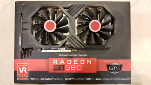 XFX AMD RX580 4GB for sale 250$