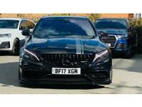 Mercedes-Benz C Class 4.0 C63 V8 BiTurbo AMG (Premium) SpdS MCT (s/s) 4dr Saloon