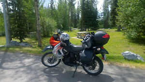 KLR-650, low mileage, near mint cond.