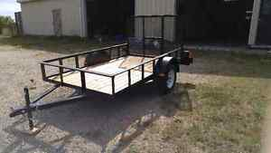 Brand New - 6x10 Utility/Landscaping trailer