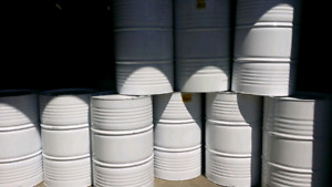 Heavy duty metal barrels. X 9