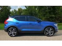 2020 Volvo XC40 B5P Mid Hybrid R Design Pro AW Auto 4x4 Petrol Automatic