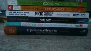 First year Business Adminstration textbooks