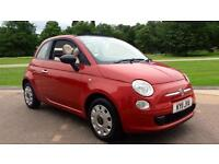 2011 Fiat 500 1.2 Pop 2dr Manual Petrol Convertible
