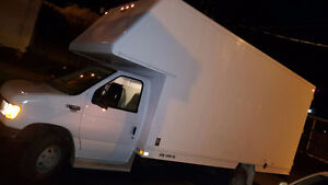 2003 FORD E450 CUBE VAN -PRISTINE CONDITION LOW KMS