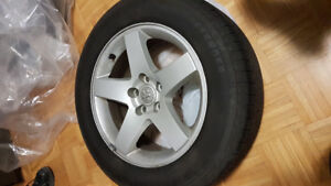 215/65R17 - MICHELIN WHEELS WITH RIMS OEM - DODGE CHARGER
