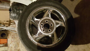 5 star rims an tires set of 4