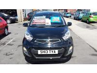 2013 KIA PICANTO 2 1.25 Automatic 5 Door From GBP7,995 + Retail Package