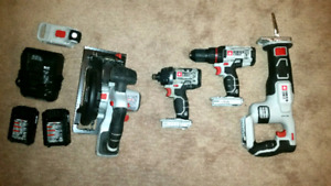 Porter-Cable cordless tool set