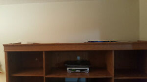 PRICE REDUCED!! Tv stand media entertainment centre Windsor Region Ontario image 2