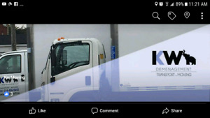 kw transport and moving