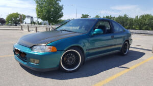 12 Second Civic 1995 EJ Coupe **Cheap**