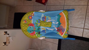Jolly jumper, exersaucer, bumbo chair, diaper covers, etc Edmonton Edmonton Area image 2