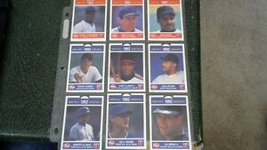 POST CEREAL 1992 BASEBALL TRADING CARDS