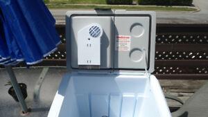 electric cooler 12v and 120v