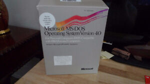 Microsoft MS-DOS Operating System Version 4.0