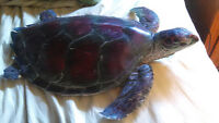 BIG Plastic Sea Turtle Great For A Pond/Tortue de Mer bon Deco