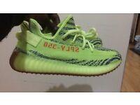 Adidas Yeezy Boost 350 V2 Semi Frozen yellow UK size 8