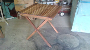 Teak Table for sale.