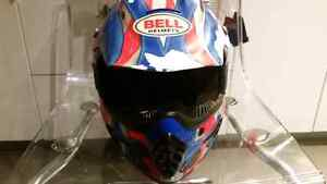 Dirt bike helmet and chest back protector Windsor Region Ontario image 2