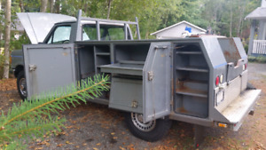 1989 Ford F250 Custom 4x4 with Service Body