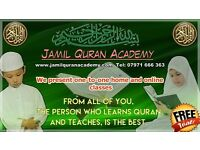 Jamil Quran Academy Quran tution Quran class male and female teacher one to one class
