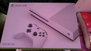 White Xbox One S for sale