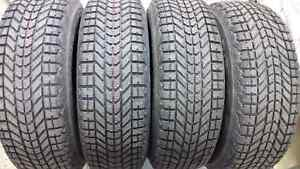 P215/70r16 Firestone Winter force Tires m+b steel wheels w/tpms