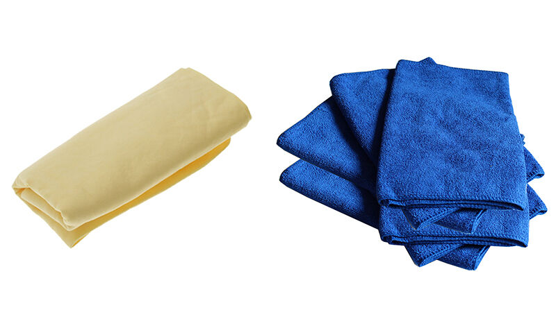 Chamois vs. Microfibre: Why They're Different