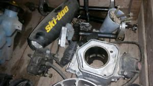 2003 ski doo zx 700 parts pieces