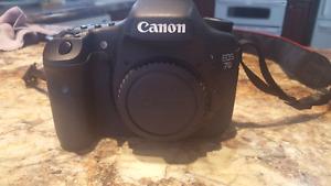 Ensemble Canon 7D + Accessoires