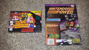 Selling Super Mario RPG + Super Mario RPG Nintendo Power Issue!