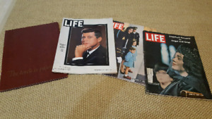 Life Magazine lot John F. Kennedy and Martin Luther King