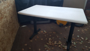 Solid Nice dining table for $20.00