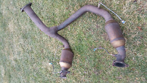 Y pipe with converters-2007 Z71 (new body style)