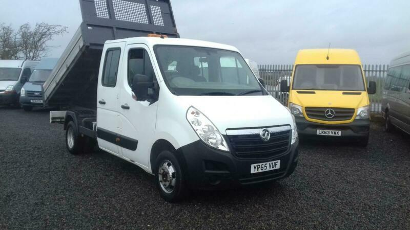 665df1f8da Vauxhall Movano 2.3CDTI ( 125ps ) Doublecab Tipper Only 70k miles ...