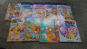 Arthur books