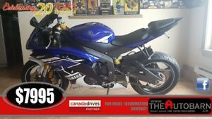 2013 YAHAMA YZF-R6 - BLUE - ONLY 5381KMS!!