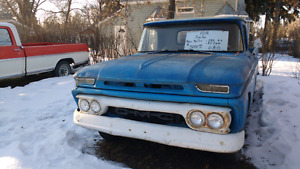 62    GMC  short box half ton  ADDED MORE  PARTS