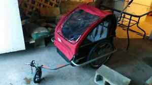 REDUCED, bike trailer for two children St. John's Newfoundland image 1