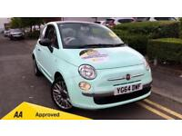 2014 Fiat 500 1.2 Cult 3dr Manual Petrol Hatchback